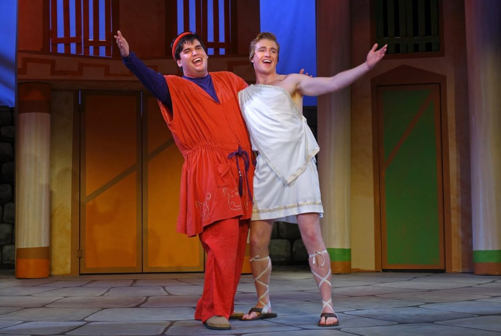 Hero in A Funny Thing Happened On The Way To The Forum PBT 2016
