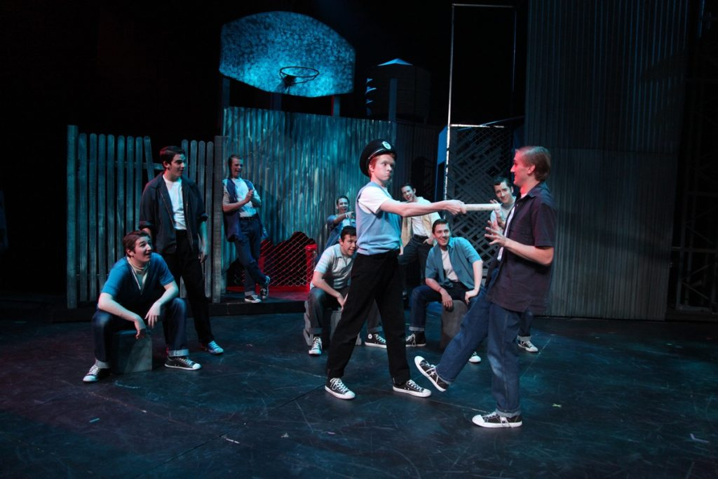 Snowboy in West Side Story LVA 2009
